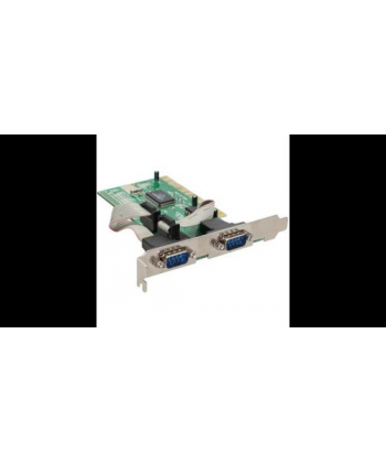 SCHEDA 2 PORTE SERIALE PCI moschip s9835