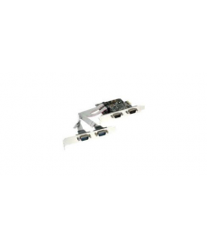 SCHEDA SERIALE PCIe 4X SUB-D 9PIN MASCHIO MOSCHIP S9904CV-AA