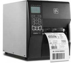 ZT230 THERMAL PRINTER 203DPI PEEL W/LINEAR TAKE UP CONNESSIONE SERIALE USB E INTERNAL ZEBRANET PRINTSERVER 10/100