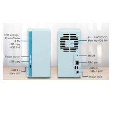2 BAY REALTEK RTD1296 2 X SATA 6GB/S 3.5 /2.5 2GB DDR4 RAM ON-BOARD; 1 X GBE ; 2 X USB3.0 AND 1 X USB2.0