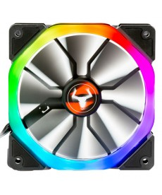 ITEK - Ventola 120x120 Arya Rainbow Addressable RGB Dual Ring 6pin