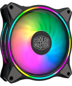 COOLER MASTER - MF120 Halo 120mm Dual Loop ARGB