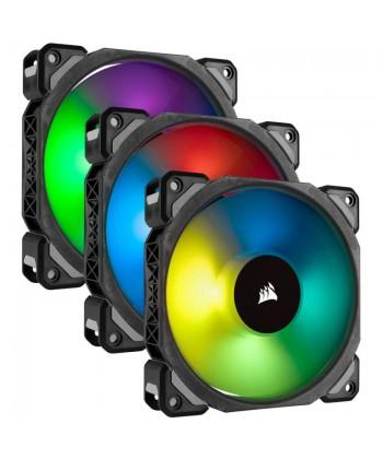 CORSAIR - ML120 PRO RGB Kit 3 x 120mm Magnetic Levitation + Lighting Node PRO