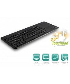 EWENT - TASTIERA SMART TV WIRELESS CON TOUCHPAD US LAYOUT