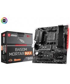 MSI - B450M Mortar MAX Micro-ATX DDR4 Dual M.2 Socket AM4