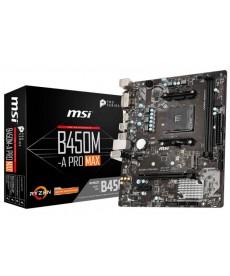 MSI - B450M-A PRO MAX Micro-ATX DDR4 M.2 Socket AM4