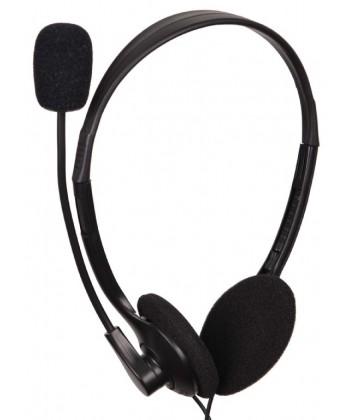 TechMade - Cuffie con microfono e controllo volume