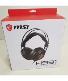 MSI - Cuffie Gaming H991 con microfono Jack 3.5