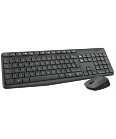 LOGITECH - MK235 Wireless Desktop