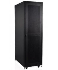 NO BRAND - Armadio Server Rack 19 42U 600x1000 con porta forata