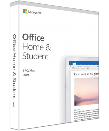 MICROSOFT - Office 2019 home and student product Key