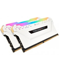 CORSAIR - 32GB Kit Vengeance RGB Pro White DDR4-3200 CL16 (2x16GB)
