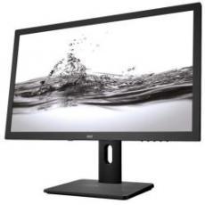 23 6 LED 16 9 1920X1080 DVI HDMI MULTIMEDIALE PIVOT REGOLABILE ALTEZZA VESA BLACK