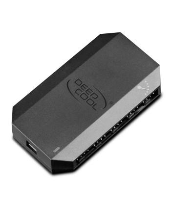 DeepCool - HUB per 10 Ventole 3 o 4 Pin