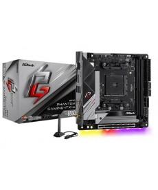 ASROCK - B550 Phantom Gaming-ITX/AX WiFi DDR4 M.2 Mini-ITX Socket AM4