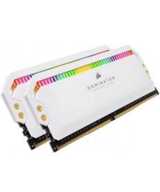 CORSAIR - 16GB Kit White Dominator Platinum RGB DDR4-3600 CL18 (2x8GB)