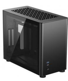 JONSBO - A4 Black Mini-ITX in alluminio e vetro temperato (no ali)