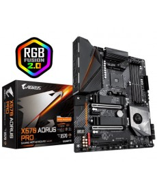 GIGABYTE - X570 Aorus Pro Dual M.2 DDR4 Socket AM4