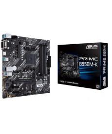 ASUS - Prime B550M-K DDR4 Dual M.2 - Socket AM4