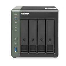 4-BAY NAS ANNAPURNA LABS AL314 QUAD CORE 1.7GHZ 4GB DDR3L SODIMM RAM (MAX 8GB), SATA 6GB/S, 1X 10GBE SFP+ LAN, 1 X 2.5GBE +