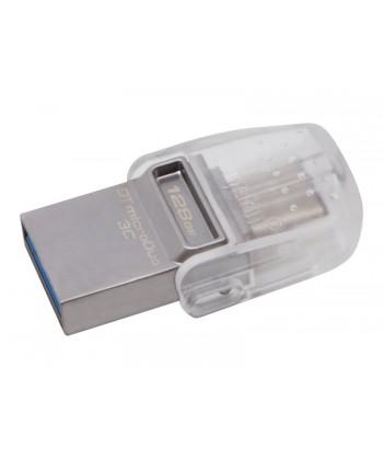 KINGSTON - PEN DRIVE 128GB MicroDuo 3C USB3.1 / Type-C