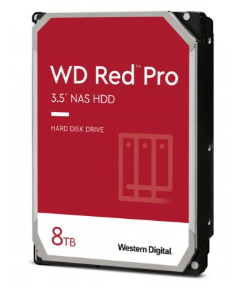 WESTERN DIGITAL - 8TB WD RED PRO - Sata 6Gb/s 256MB x NAS