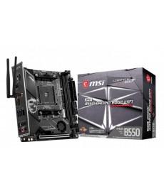 MSI - B550i Gaming Edge WiFi Mini-ITX Dual M.2 DDR4 Socket AM4