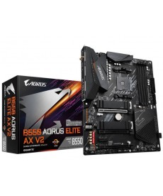 GIGABYTE - B550 Aorus Elite AX v2 WiFi Dual M.2 DDR4 Socket AM4