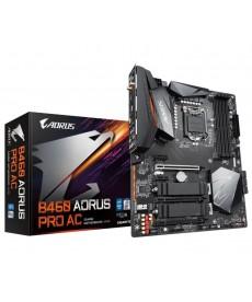 GIGABYTE - B460 Aorus Pro AC Dual M.2 DDR4 Socket 1200