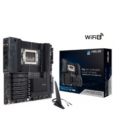 ASUS - Pro WS WRX80E-SAGE SE WiFi WRX80 Triple M.2 DDR4 Extended-ATX Socket TRX4