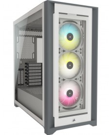 CORSAIR - iCUE 5000X RGB White (no ali)