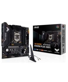 ASUS - TUF B560M-Plus Gaming WiFi DDR4 Dual M.2 mATX Socket 1200