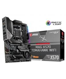 MSI - X570 Tomahawk WiFi DDR4 Dual M.2 ATX Socket AM4