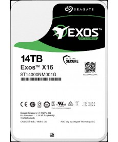 SEAGATE - 14TB Exos X16 HDD Sata 6Gb/s 256mb