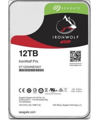 SEAGATE - 12TB IronWolf Pro HDD Sata 6Gb/s