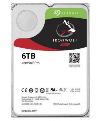 SEAGATE - 6TB IronWolf Pro HDD Sata 6Gb/s
