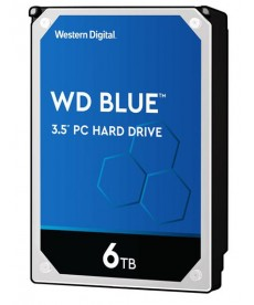 WESTERN DIGITAL - 6TB WD BLUE 256MB Sata 6Gb/s