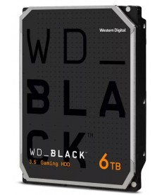 WESTERN DIGITAL - 6TB WD BLACK - Sata 6Gb/s 256MB