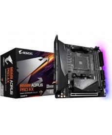 GIGABYTE - B550I Aorus Pro AX WiFi Dual M.2 DDR4 Mini-ITX Socket AM4