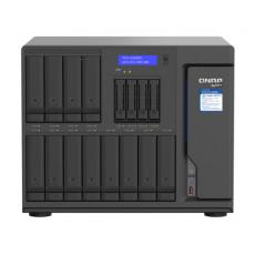 16-BAY TURBONAS (12 X 3.5 HDD + 4 X 2.5 SSD) SATA 6G INTEL XEON W-1250 6 CORES 12 THREADS 3.3 GHZ (BOOST UP TO 4.7 GHZ), 3