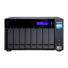 "8-BAY NAS INTEL CORE? I3-8100T 4-CORE 3.1 GHZ PROCESSOR 8GB DDR4 RAM (MAX 32GB RAM), 8X 2.5""/3.5"" SATA HDD/SSD + 2X M.2 PCI"