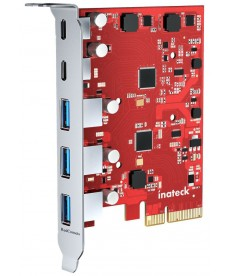 NO BRAND - Controller PCIe USB 3.2 1 USB Type-C 3 USB