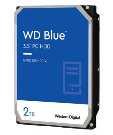 WESTERN DIGITAL - 2TB WD BLUE 256MB Sata 6Gb/s