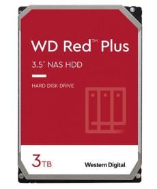 WESTERN DIGITAL - 3TB WD RED Plus - Sata 6Gb/s 128MB x NAS