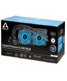 ARCTIC COOLING - Arctic Liquid Freezer II RGB 240 x Socket 1200 2066 AM4