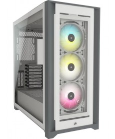 CORSAIR - iCUE 5000X RGB White Extended-ATX