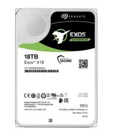 SEAGATE - 18TB Exos X18 HDD Sata 6Gb/s 256mb