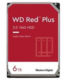 WESTERN DIGITAL - 6TB WD RED Plus - Sata 6Gb/s 256MB x NAS