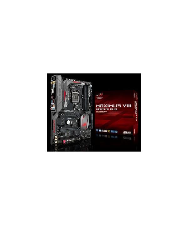 ASUS - Maximus VIII Hero Alpha WiFi Z170 DDR4 SOCKET 1151 - Syspack