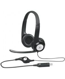 LOGITECH - H390 Cuffie con microfono USB